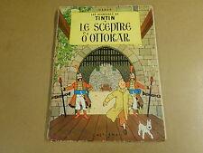 BD HC RE 1963 / TINTIN - LE SCEPTRE D'OTTOKAR