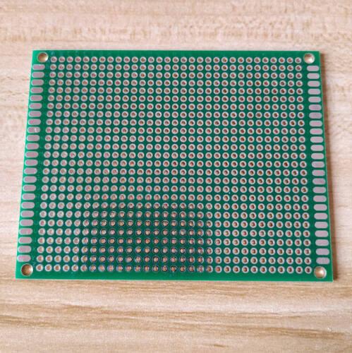 2pcs 7x9cm Double Side Prototype PCB Universal Printed Circuit Board