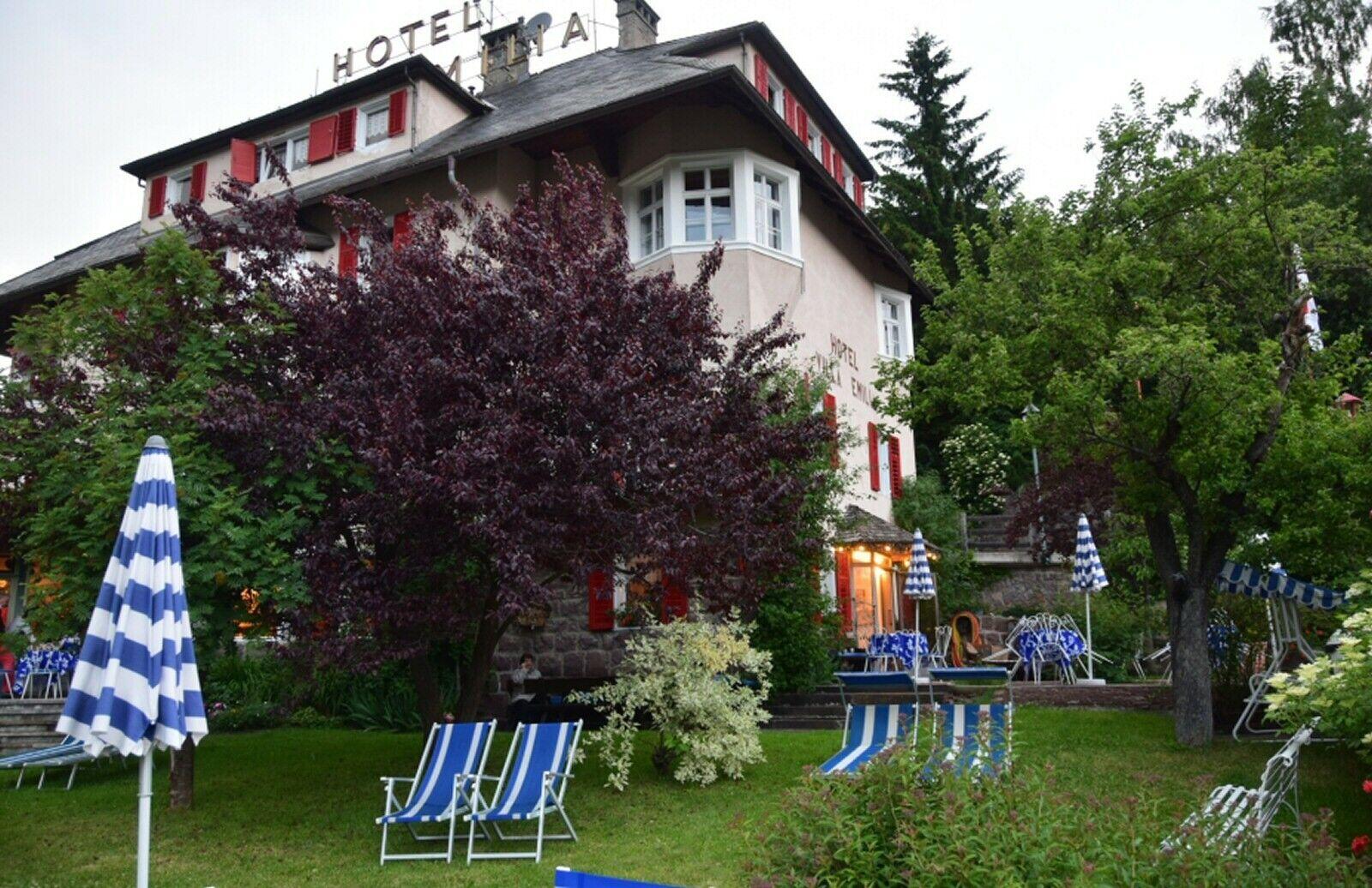 Südtirol - Grödnertal: 2P/5T HP; Hotel*** Rodes/Hotel*** Villa Emilia. St.Ulrich
