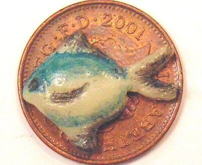 1:12 Scala Singola Fimo Pesce Per Casa Delle Bambole Cucina Negozio Accessori D-mostra Il Titolo Originale Elegante E Grazioso