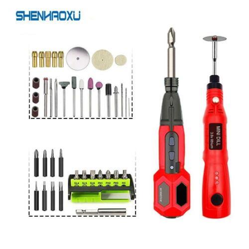 Mini Grinder Drill Cordless Electric Power Tool Set Screwdriver 3.6V Power Tools