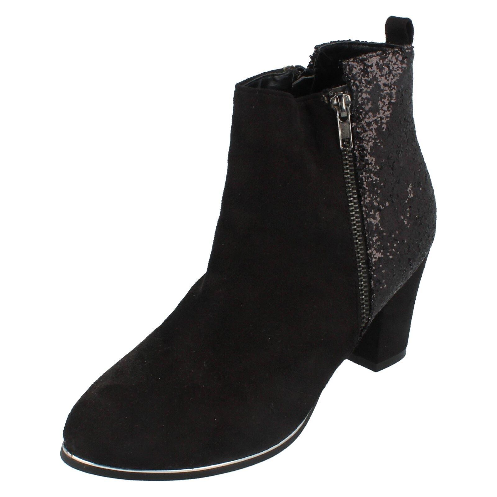 Mesdames f50465 Noir Bottine par spot on retail