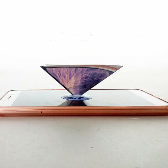 3d Hologram Pyramid Display Projector Video for Universal Smart Cell Phone