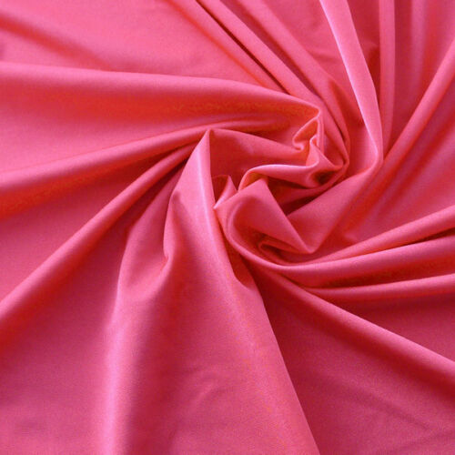 By the yard Raspberry Sorbet Shimmering Micro Spandex Fabric