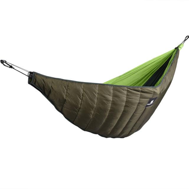 Ultralight Camping Hammock Underquilt Portable Winter Under Quilt Blanket T6U7