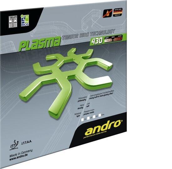 Andro Plasma 430  Tischtennis-Belag Tischtennis-Belag Tischtennis-Belag Tischtennisbelag 7fc6ca