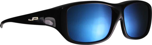 c172ffe112 Jonathan Paul Fitovers Eyewear Large Quamby in Eternal Black   Blue Mirror  Ql001bm