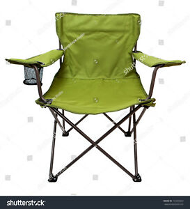 Northwest-Lightweight-Folding-Sports-Chair-Lime-Green-225lb-Max-Capacity