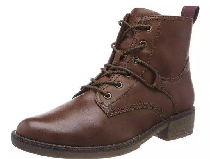 Tamaris Womens Combat Boots Brown Eu 39