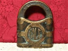 HANDSOME OLD ANTIQUE LOCK by YALE & TOWNE MFG. CO. STAMFORD CONN. U.S.A.