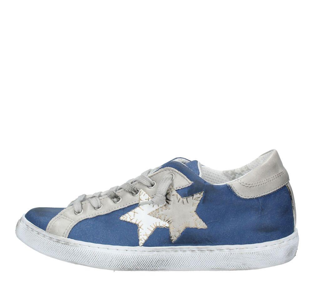 Amf64_2sta Scarpe Sneakers 2star Uomo Multicolore