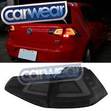 R LED SMOKE STYLE TAIL LIGHT VW VII 7 GTD GTI  VW GOLF MK7 VALENTI LIGHT BAR