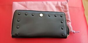 79 zip nera grande in con Stud' Borsa £ Radley 'liverpool pelle around Rrp St New GzLSUVpMjq