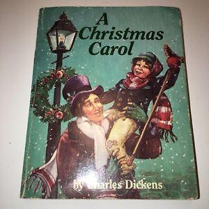 Vintage Children S Story Book A Christmas Carol Ebay
