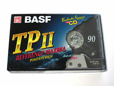BASF Reference Maxima TP II 90 AUDIO CASSETTE TAPE (new and sealed)