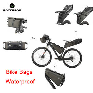 Details About Rockbros Cycling Bicycle Bike Bag Touring Bags Free Combine Equipment