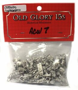 Old Glory - Confederate Infantry Command - Unpainted - 15mm Twv02mb2-07181836-611651261