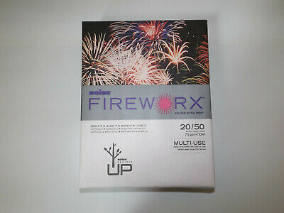 20 Pounds 500 Sheets//Ream 8-1//2 x 11 Boise Fireworx Colored Paper Golden Glimmer MP2201-GRP