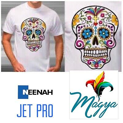 JET-PRO Sofstretch Inkjet Heat Transfer Paper 11x17 50 MADE IN THE USA!!