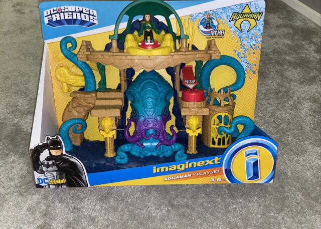 Fisher-Price Imaginext DC Super Friends Aquaman Playset Brand New