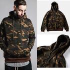 Men's Camo Hoodie Mens Camouflage Sweatshirt Adult Hooded Clothing Fashion New