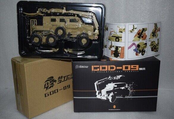 NUOVO Transformers Dream FACTORY GOD09 Acciaio Artiglio Bonecrusher cifra in magazzino
