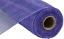 Purple, Lavender, Blue 10 inch x 30 feet Multi Stripe Deco Poly Mesh Ribbon