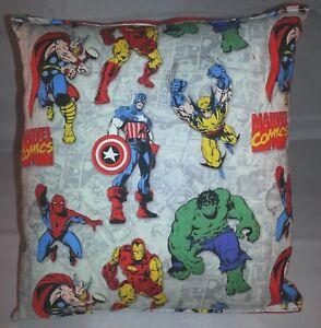 Marvel-Pillow-Vintage-Hulk-Iron-man-Captain-America-Wolverine-Spider-Man