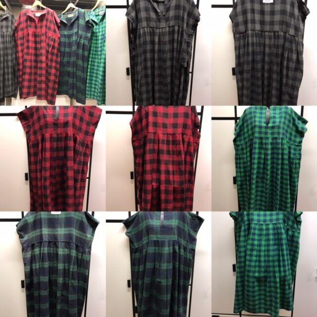 Vestido plisado de algodón veritecoeur Cuadrado Cochebón  Cuadros Rojos Combo  las mejores marcas venden barato