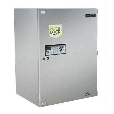 Burg Wächter Paketbox eBoxx GV 644 ParcelLock Silber Paketkasten XXL Briefkasten