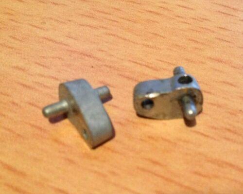 2 Achsschenkel Räder Befestigung Vorderachse für Akustico Examico Oldtimer