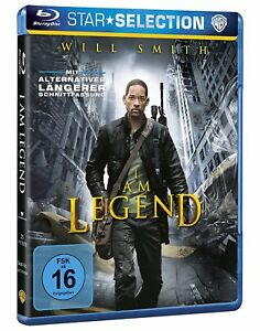 I-Am-Legend-Blu-ray-NEU-OVP-nach-Richard-Mathesons-mit-Will-Wmith-Alternative
