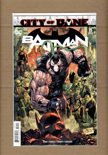 BATMAN #75 BANE COVER A MAIN DC COMICS 2019 NM
