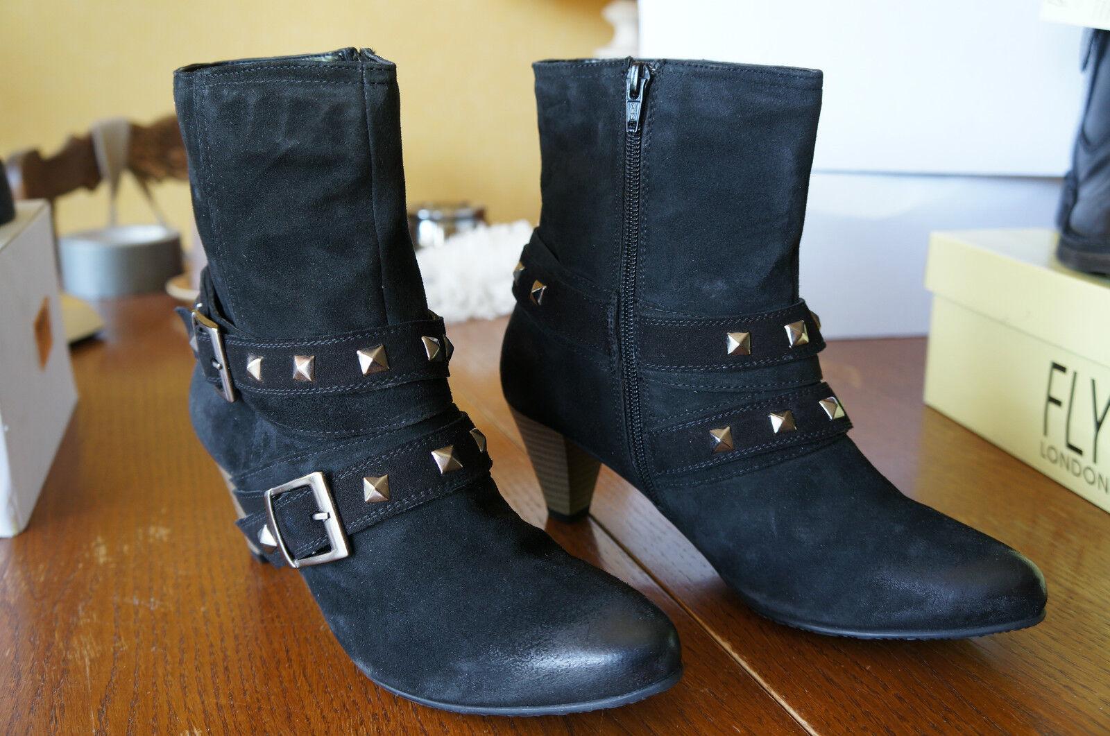 Daniel Hechter 0608, Boots femme - Noir, 40 EU