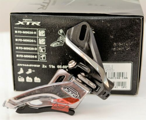 Shimano XTR 2x11 Front Derailleur FD-M9020-D Side Swing Front Pull Direct