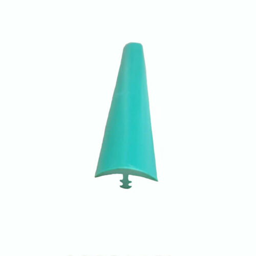 """20ft 6m Length 5//8/"""" 16mm Width Green Plastic T-Molding for Arcade Game Cabinets"""