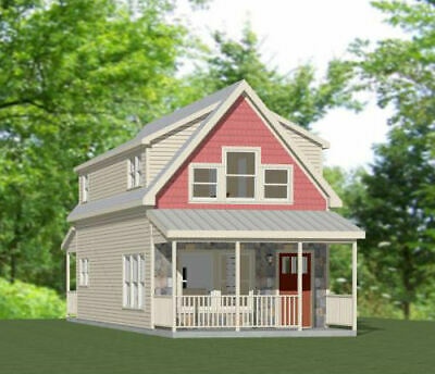 Getrouw 16x40 House -- 1,193 Sq Ft -- Pdf Floor Plan -- Model 1c