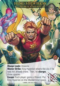 timeless design f1b95 b1b44 Image is loading KING-HYPERION-Upper-Deck-Marvel-Legendary-MASTERMIND