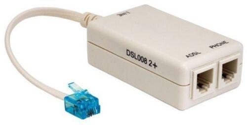 ADSL Line Filter /& Splitter Genuine Tetech DSL008 2