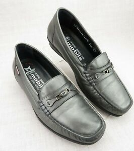 5f91517fd9 Mephisto Mobils Pewter Leather Cool-Air Slip On Horse Bit Loafer ...