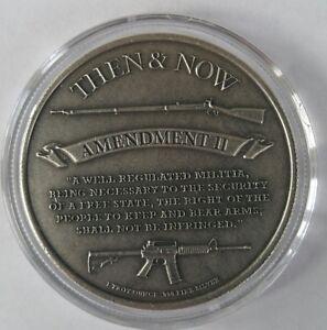 2016 1//4 oz .999 Silver Punisher coin second amendment 3 percenter