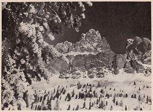 D5234-Il-Monte-Cristallo-e-il-Piz-Popena-Stampa-d-039-epoca-1938-vintage-print