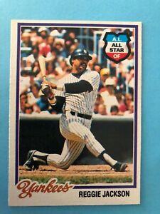 1978-Topps-Reggie-Jackson-Card-2009-New-York-Yankees-HOF