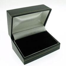 Black double / wedding ring box