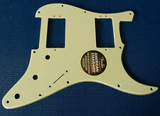 American Standard Fender HH Stratocaster Strat PICKGUARD Parchment 3 Ply