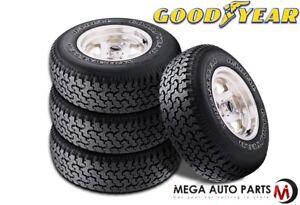 4 Goodyear Wrangler Radial P235 75r15 105s Owl All Terrain Tires Ebay