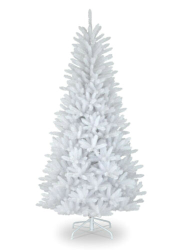 5FT 6FT 7FT WHITE GREEN BLACK XMAS ARTIFICIAL CHRISTMAS TREE METAL STANDING FOOT