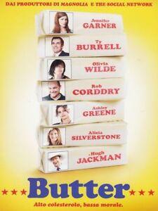 Butter-DVD-NUOVO-Sigillato-Jennifer-Garner-RN