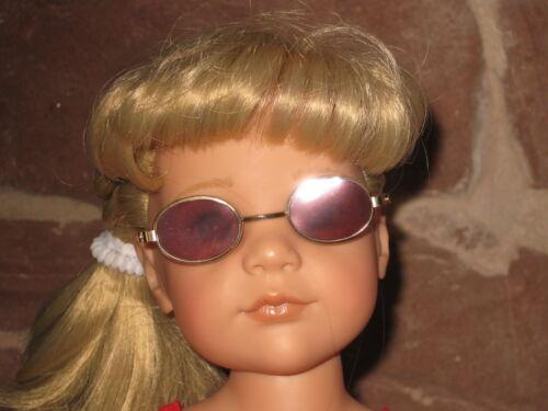 vestiti bambole Occhiali da sole MARRONE senza bambola 1528 PIANTANA 46-50cm Bambola