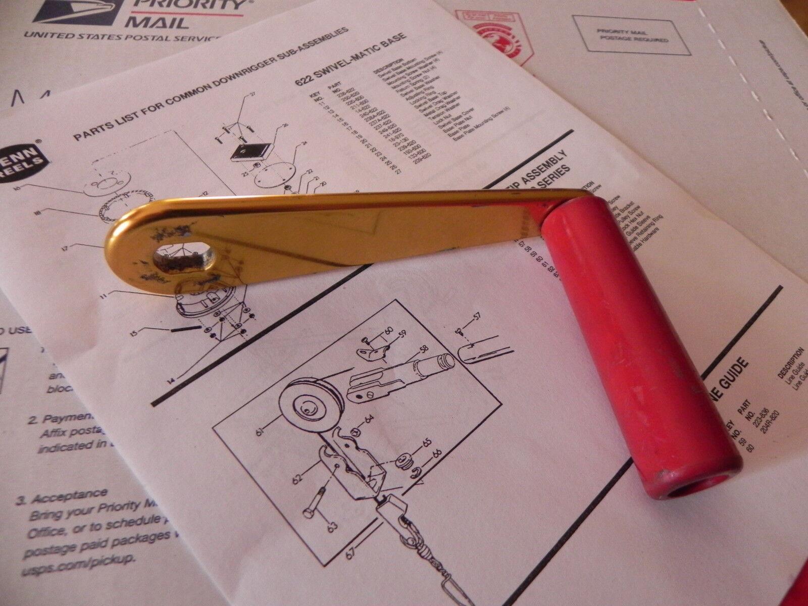 Penn profundizador Parts-Manivela Conjunto-Todos Los Modelos Manual De oro 24-600SP